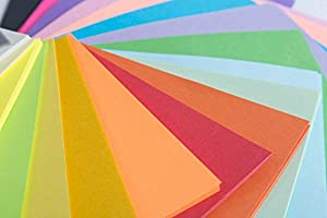 Origami Paper 200 Sheets, 20 Vivid Colors, Double Sided Colors Make Colorful and Easy Origami,6 Inch Square Sheet, for Kids & Adults, Papers, Arts and Crafts Projects (E-Book Included) (200 Sheets) (Tamaño: 200 Sheets)