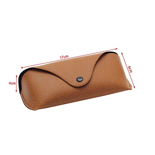 Niceskin Eye Glasses Sunglasses Hard Case Protector Durable, Faux Leather - http://coolthings.us