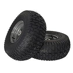 """MARASTAR 21446-2PK 15x6.00-6"""" Front Tire Asse"""