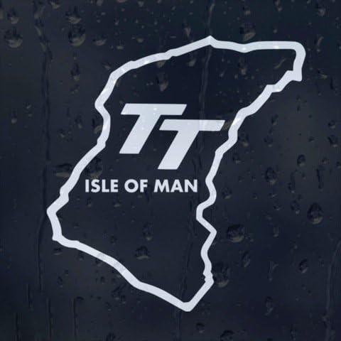 Auto Accessories Tt Isle Of Man Vinyl Aufkleber Außenanbringung Auto