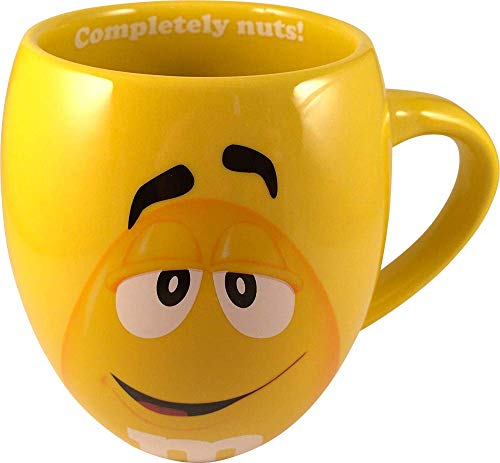 M&Ms Big Face Ceramic Mugs (Yellow) for sale  Delivered anywhere in USA