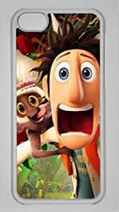 Flint Lockwood in Film Cloudy with a Chance of Meatballs Custom PC Transparent Case for iPhone 5C by LZHCASE