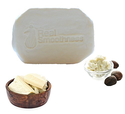 Real Smoothness Unrefined African Shea Butter for Skin and Hair, 16 oz