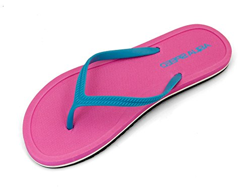 Aqua-Speed - Sandalias para mujer Pink/Hellblau