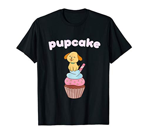 Cute Pupcake T-Shirt Cupcake & Puppy Love Dogs Gift