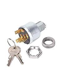 10L0L Interruptor de encendido para EZGO 33639G01, Interruptor de encendido para coches con luces (llave estándar)