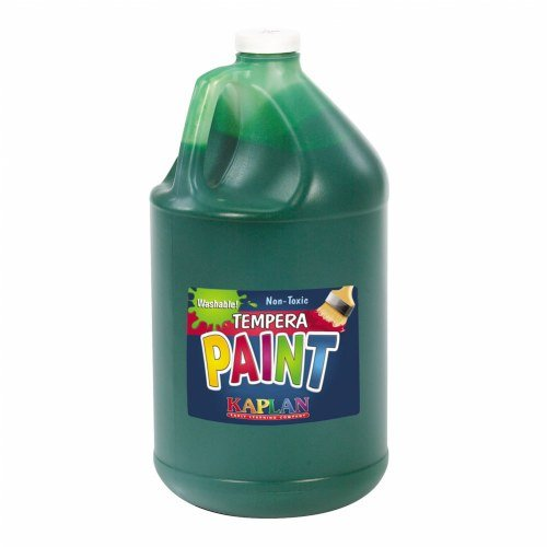 Kaplan Kolors Washable Tempera Paint - Green (1 Gallon) (Green Kolor)