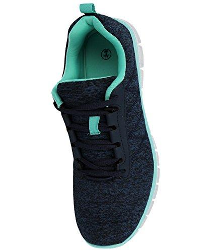 Course Filet Chaussures Gym En Lacets Maille Marine Sports vert Léger De Foster Baskets Bleu Pour Taille À Footwear Homme Menthe Décontracté 61 Confort XFxqxpaw6