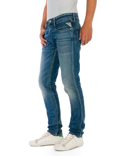 Anbass Uomo Jeans Denim Da Replay Skinny 0B0Iw