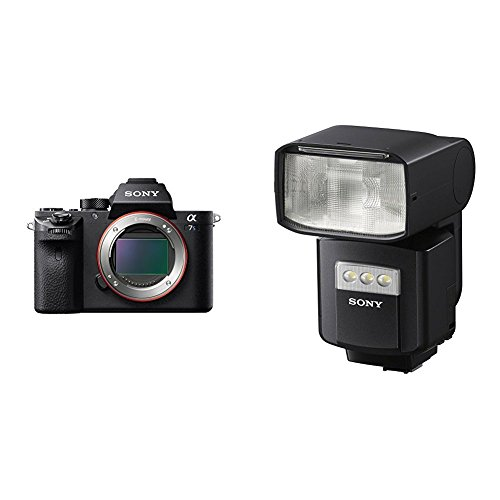 Price comparison product image Sony a7S II ILCE7SM2 / B 12.2 MP E-mount Camera with Full-Frame Sensor,  Black and External Flash with Wireless Radio Control Camera Flash,  Black (HVLF60RM)