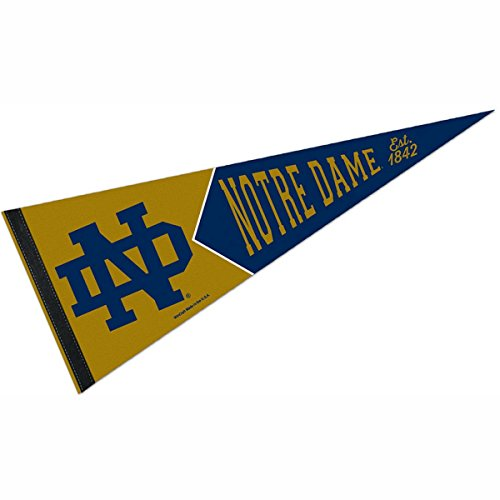 Notre Dame Fighting Irish Official NCAA 29 inch Pennant by Wincraft