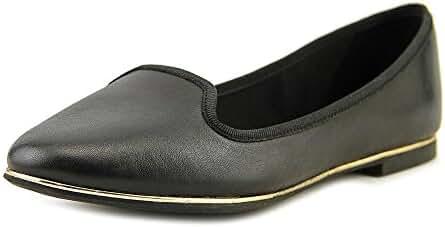 Aldo BOBO Women Round Toe Leather Black Flats