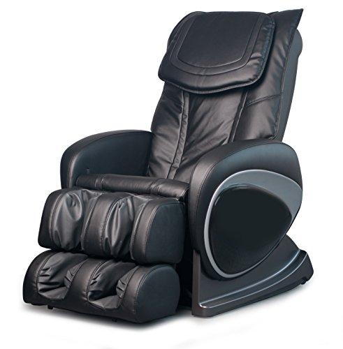 COZZIA EC-326 Shiatsu Massage Chair Recliner with Heat & LCD Controller, Black, 141 Pound Review