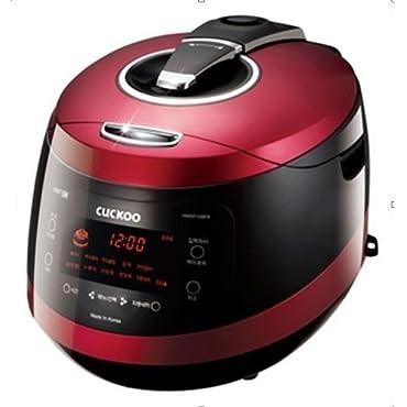 Cuckoo CRP-HW1087F 10 Cup Pressure Rice Cooker, 110V, Vivid Wine