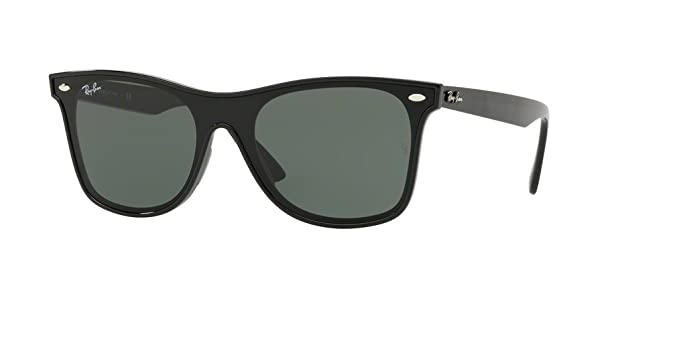 Amazon.com  Ray-Ban RB4440N 601 71 41M Black Green Sunglasses  Clothing d67cbca3fa1