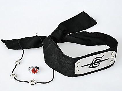 Amazon.com: Naruto Uchiha Itachi Cosplay banda para la ...
