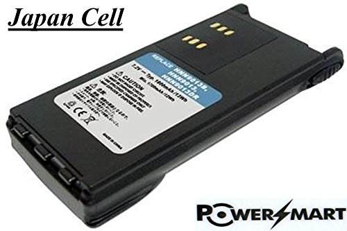 Price comparison product image PowerSmart 1950 mAh Motorola HNN9013,  HNN9013B,  HNN9013DR Portable Replacement Two-Way Radio Lithium-ion Battery - [Japan Panasonic brand grade A cell,  100% brand new]