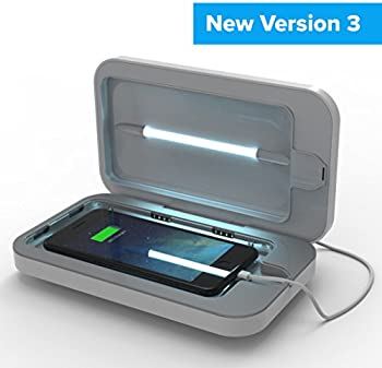 PhoneSoap 3 UV Cell Phone Sanitizer & Dual Phone Charger