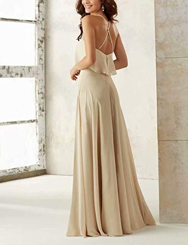 0b8c0aec1ec ... Chiffon Long Bridesmaid Dresses Spaghetti Straps Prom Wedding Guest  Party Dress Sky Blue 24 Plus.   