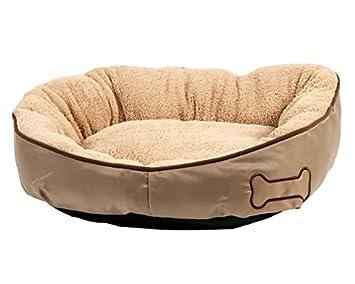 Karlie 516425 Cama para Perros Chipz Redondo, Color Beige: Amazon.es: Productos para mascotas