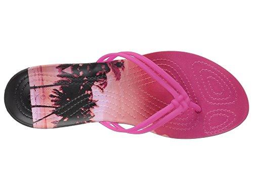 967e9c359140 Galleon - Crocs Women s Isabella Graphic W Flip Flop