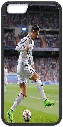 Cristiano Ronaldo con pelota de fútbol Real Madrid para iPhone 6 ...