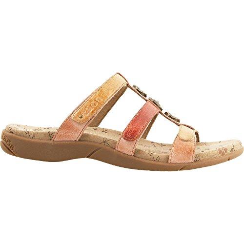 Sandal Footwear Sandals - Taos Footwear Women's Prize 3 Blush Multi Sandal 9 B (M) US