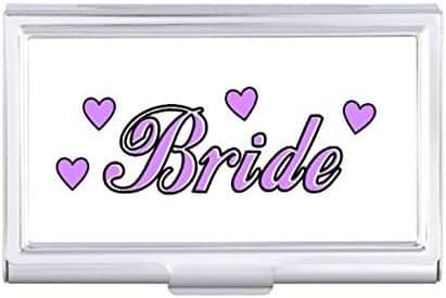 Bride Wedding Hearts Card Holder