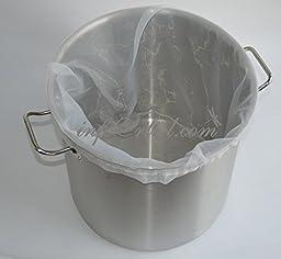 Nylon Brew Bucket Filter Bag,Pocket Filter, Nylon Bag, Homebrew