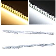 Excellent 36SMD 5050 LED Strip Light Caravan Cabinet Downlight Bar Lamp 12V 50CM Warm White (Pack of 2)
