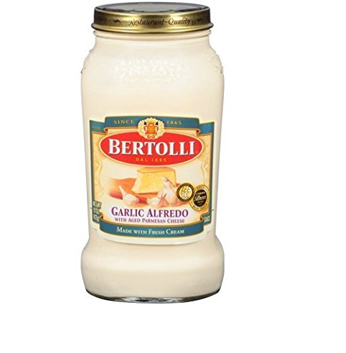 Garlic Alfredo Sauce - Bertolli Garlic Alfredo Sauce, 15 Oz, (Pack of 3)
