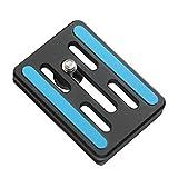 Bonfoto Professional Universal Aluminum Camera Camcorder Tripod Monopod Ball Head Quick Release Plate for B671A,B671C,B674A,B674C,B690A,Z688,Z699,Z699C