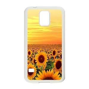 AinsleyRomo Phone Case Sunflowers art case For Samsung Galaxy S5 FSQF477178