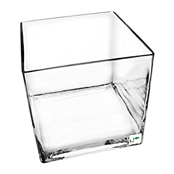 c5294df800d Nature s Pure Series Seamless Glass Cube Aquarium 10x10x10 in. - 3.5  Gallons  Amazon.ca  Pet Supplies