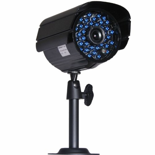 VideoSecu 4 x Outdoor Bullet Security Cameras Day Night 36 Infrared LEDs 520TVL High Resolution IR-Cut Filter Switch CCTV Home Surveillance with Power Supply and Video Power Cables WM9 by VideoSecu (Image #2)
