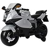 PoshTots Ride-On BMW Like Bike, White