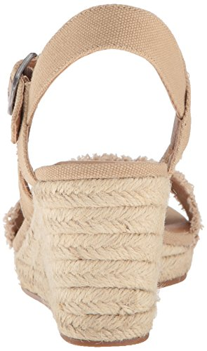 Espadrille Brand Wedge Women's Sandal Marceline Travertine Lucky t7aqwfxa
