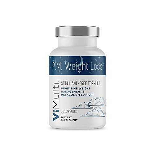 ViMulti PM Weight Loss - Add a Stimulant Free Sleep Aid, Fat Burner, Appetite Suppressant Weight Loss Supplement to Your Diet and Exercise Plan to Burn Fat and Lose Weight While You Sleep ()