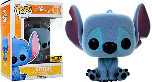Pop! Funko Disney Lilo & Stitch Flocked Stitch Vinyl Figure Hot Topic Exclusive