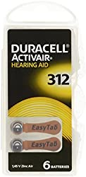 Duracell Hearing Aid Batteries Size 312 pack 60 batteries