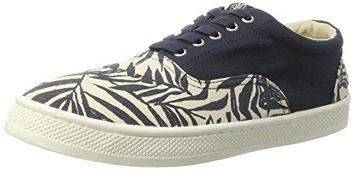 Marc O'Polo Herren 70223793501618 Sneaker Low-Top Blau (Navy)