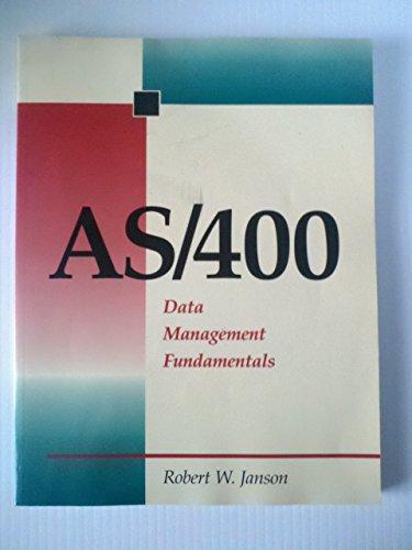 As/400 Data Management Fundamentals by Boyd & Fraser Pub Co