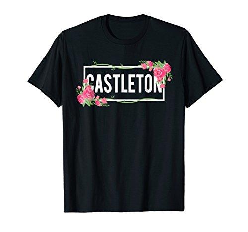 Castleton Vermont T-Shirt Floral Hibiscus Flower