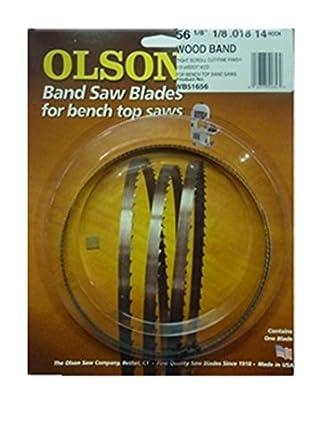 Olson Wb51656bl 56 1 8 Inch X 1 8 Inch X 14 Tpi Band Saw