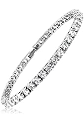 Cubic Zirconia Classic Tennis Bracelet-8 inch