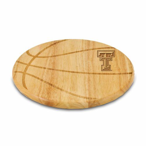 NCAA Texas Tech Red Raiders Free Throw 12-1/2-Inch Cutting Board (Logo Cutting Tech Board)