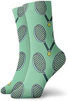 MSONNET Calcetines de diseño novedoso, Pelota de Tenis y ...