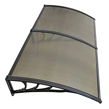 Image of Home and Kitchen akasaw98 40 x 80 inch Canopy Awning Patio Window Front Door UV Protection Rain Cover