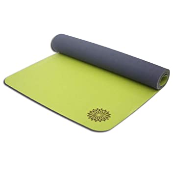 JiuErDP Cojín de Yoga de Goma de Estera de Yoga de Dos ...