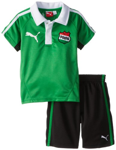 PUMA Little Boys' Toddler Country Perf Set-1, Fern Green, 3T ()